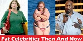 Fat Celebrities Then And Now