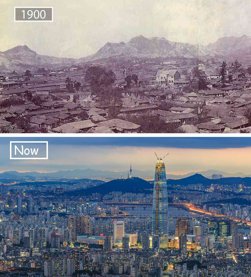 Seoul Then And Now