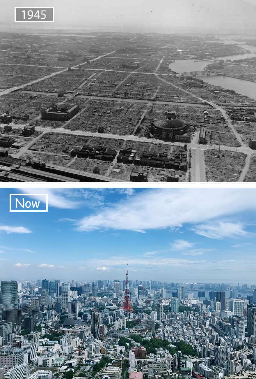 Tokyo Then And Now
