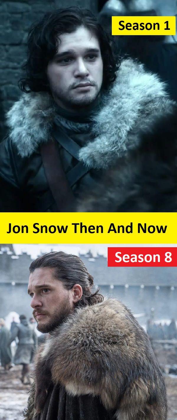 Jon Snow Season 1 vs Season 8