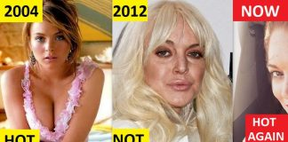 Lindsay Lohan Then And Now