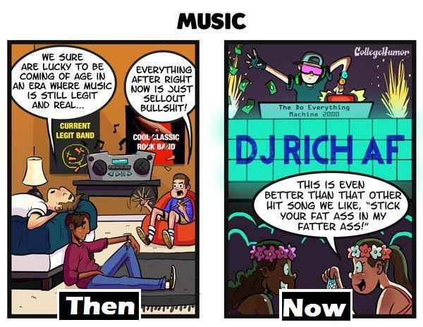 Music Then And Now