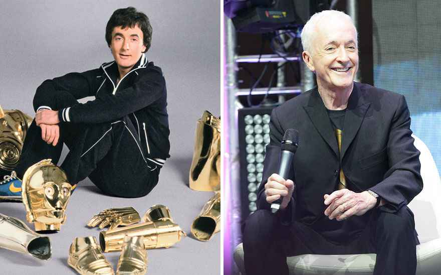 Anthony Daniels Then And Now
