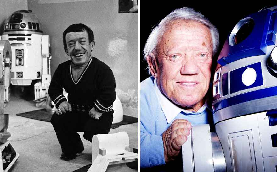 Kenny Baker Then And Now