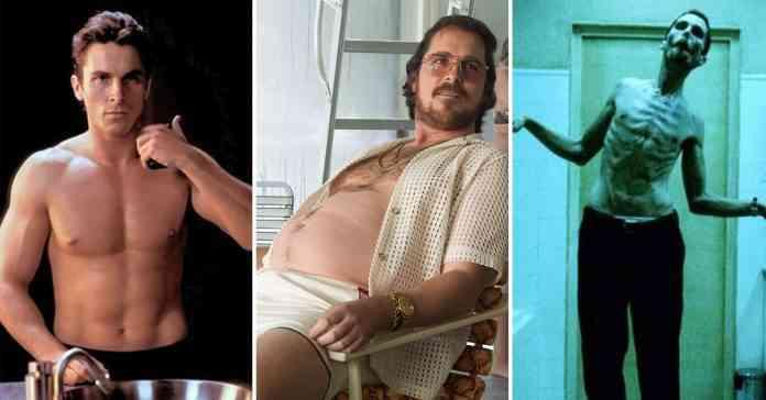 Christian Bale Body Transformation