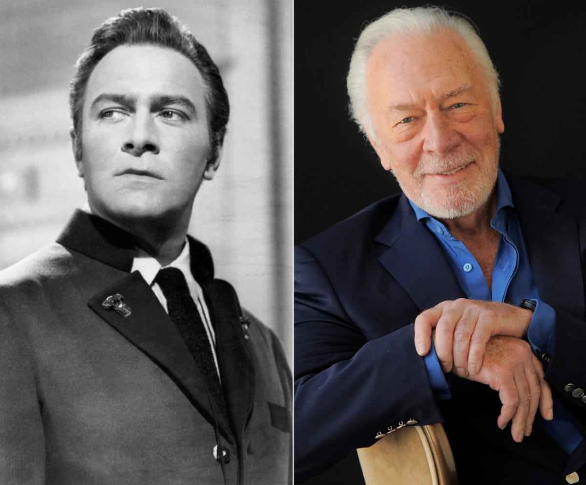 Christopher Plummer Then And Now