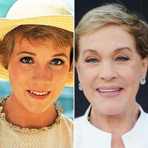 Julie Andrews Then And Now
