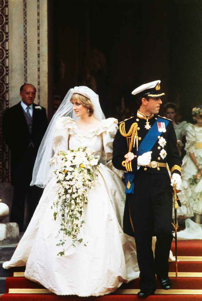 Prince Charles and Diana Spencer Wedding