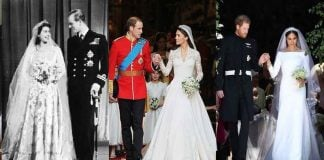 Royal Weddings Then and Now