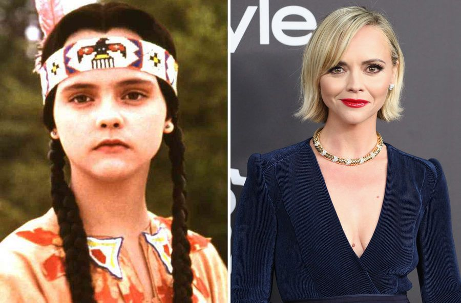 Christina Ricci Then And Now