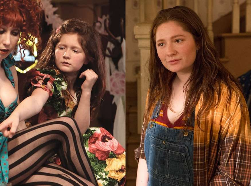 Debbie Gallagher Played by Emma Kenney Then And Now