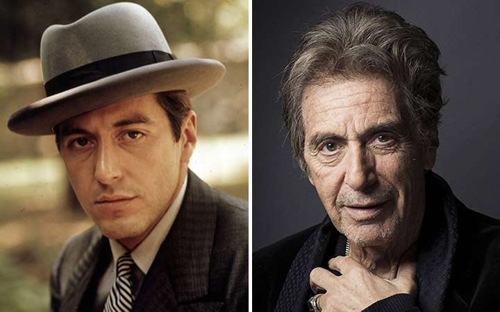 Al Pacino Then And Now, aging celebrities then and now