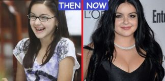 Ariel Winter Then And Now