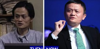 Jack Ma Then And Now