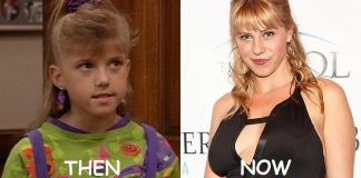jodie sweetin then and now