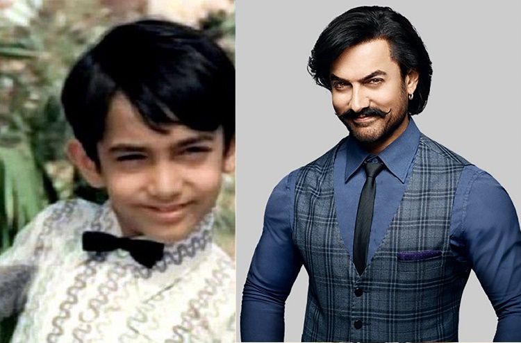 Aamir Khan Then And Now