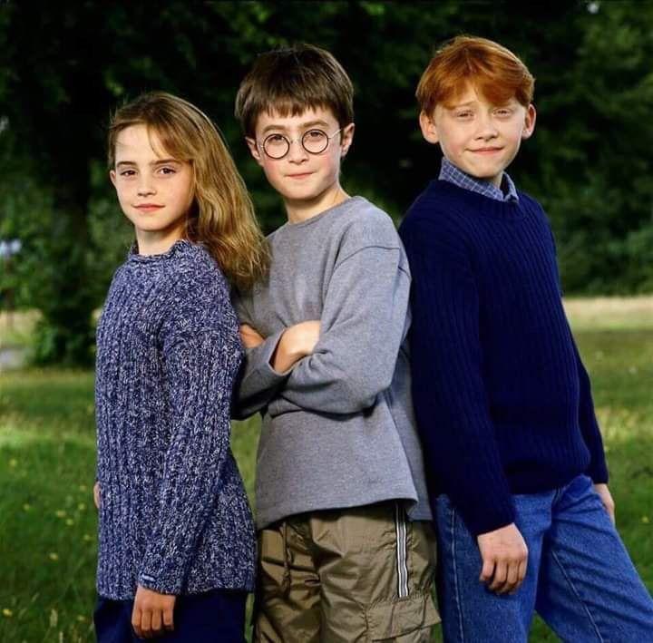 Harry Potter Cast 2001