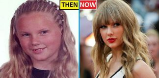 Taylor Swift Then And Now