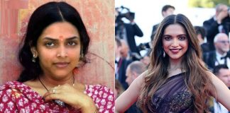Deepika Padukone then and now