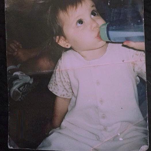Ariana Grande At Age 1