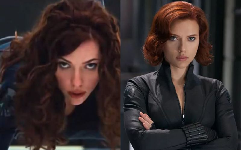 Black Widow Then And Now