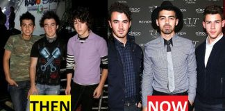 Jonas Brothers Then And Now