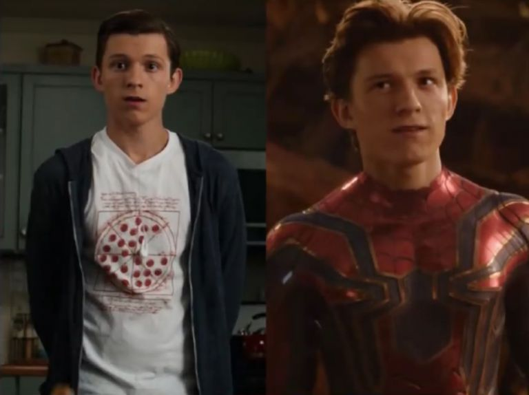 Iron Spider Then And Now