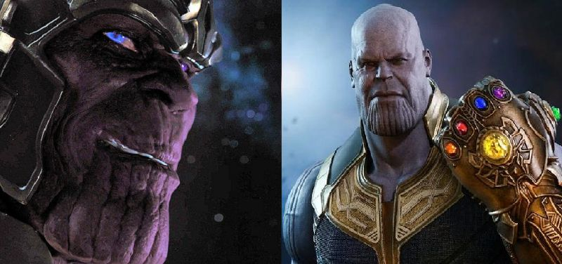 Thanos Then And Now