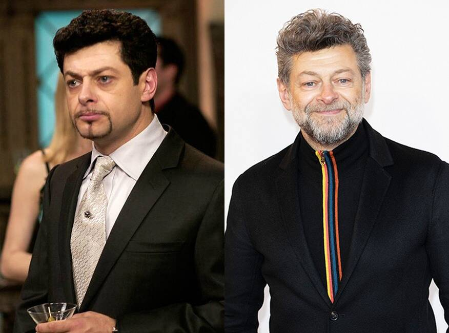 Andy Serkis As Richard Kneeland Then And Now