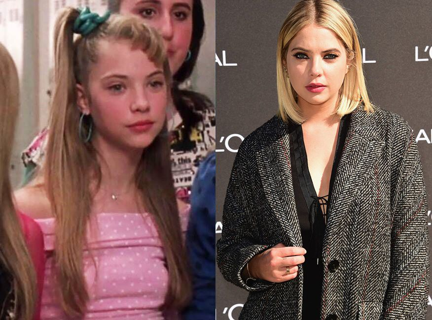 Ashley Benson As Six Chick Then And Now