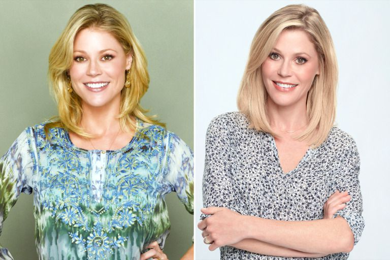Julie Bowen as Claire Dunphy Then And Now
