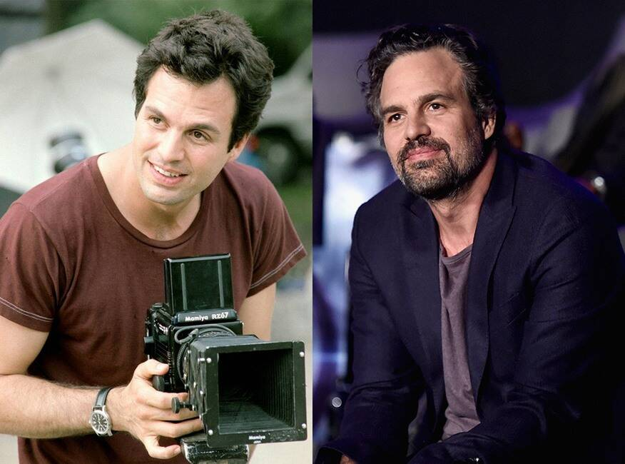 Mark Ruffalo As Matt Flamhaff Then And Now