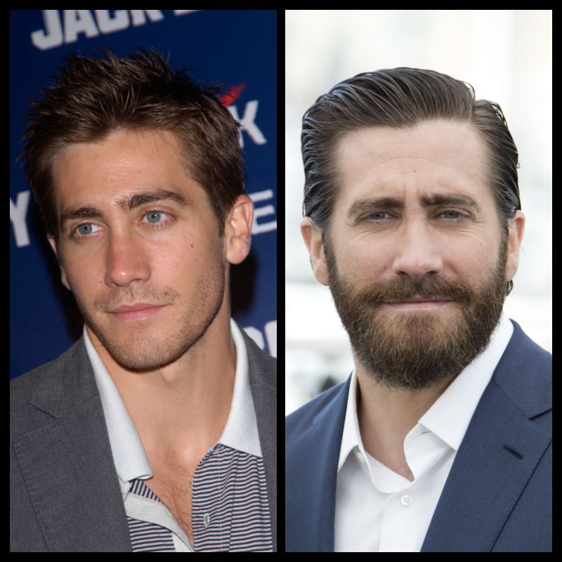 Jake Gyllenhaal Then And Now