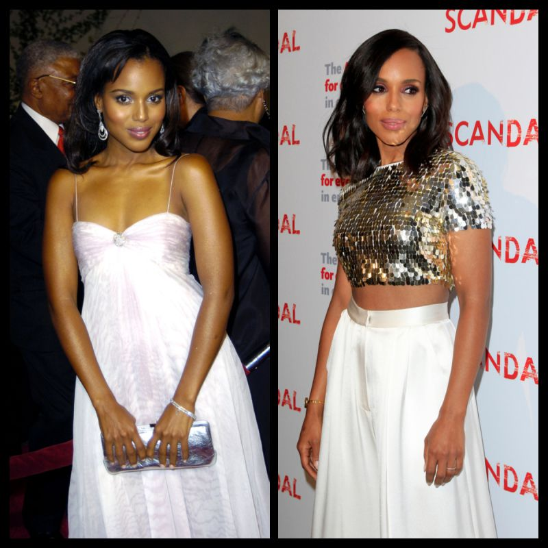 Kerry Washington Then And Now