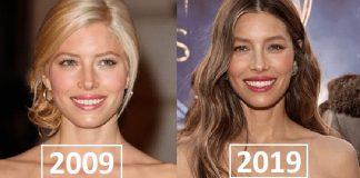 Celebrities 10 Year Challenge