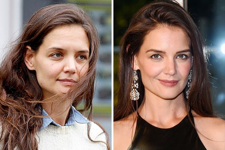 Katie Holmes Without Makeup