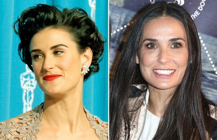 Demi Moore Most Expensive Celebrity Transformations