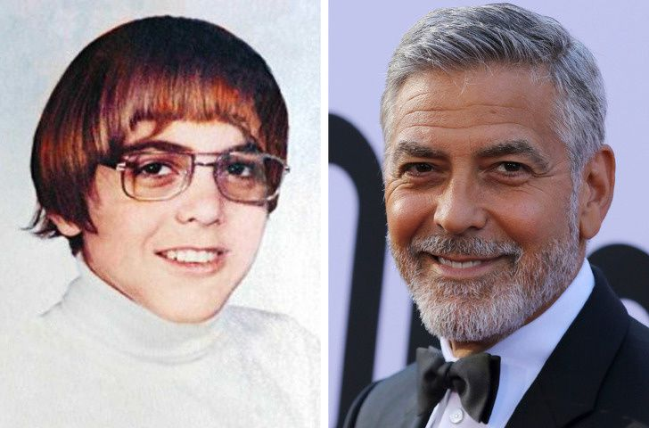 George Clooney In School Life