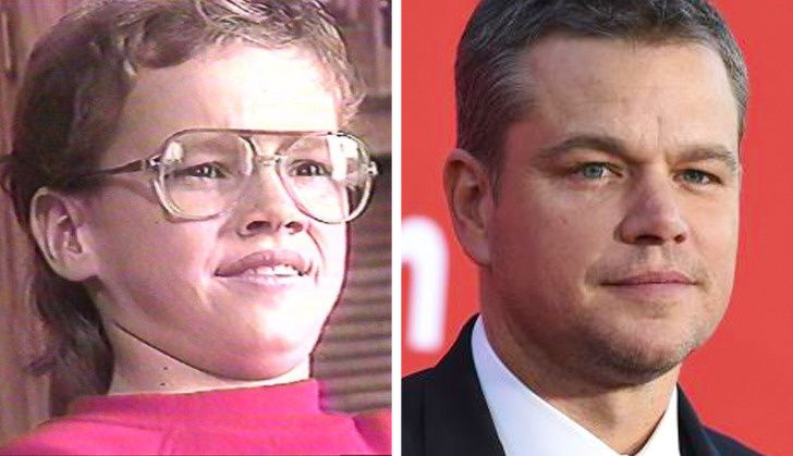 Matt Damon In School Life