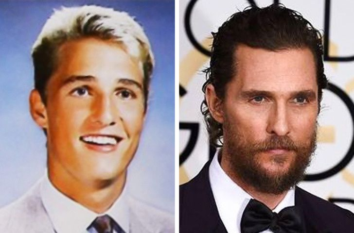 Matthew McConaughey In School Life