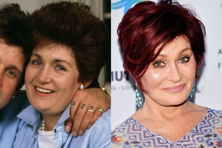 Sharon Osbourne Most Expensive Celebrity Transformations