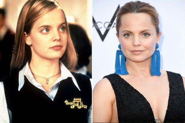 Mena Suvari Then And Now
