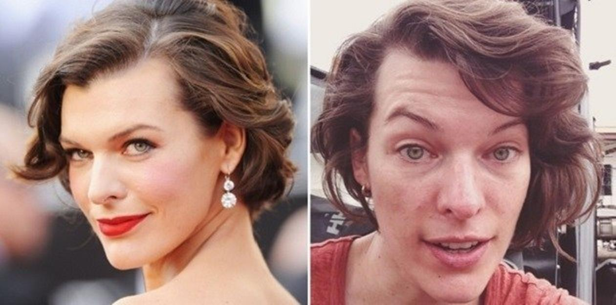 Milla Jovovich in real life
