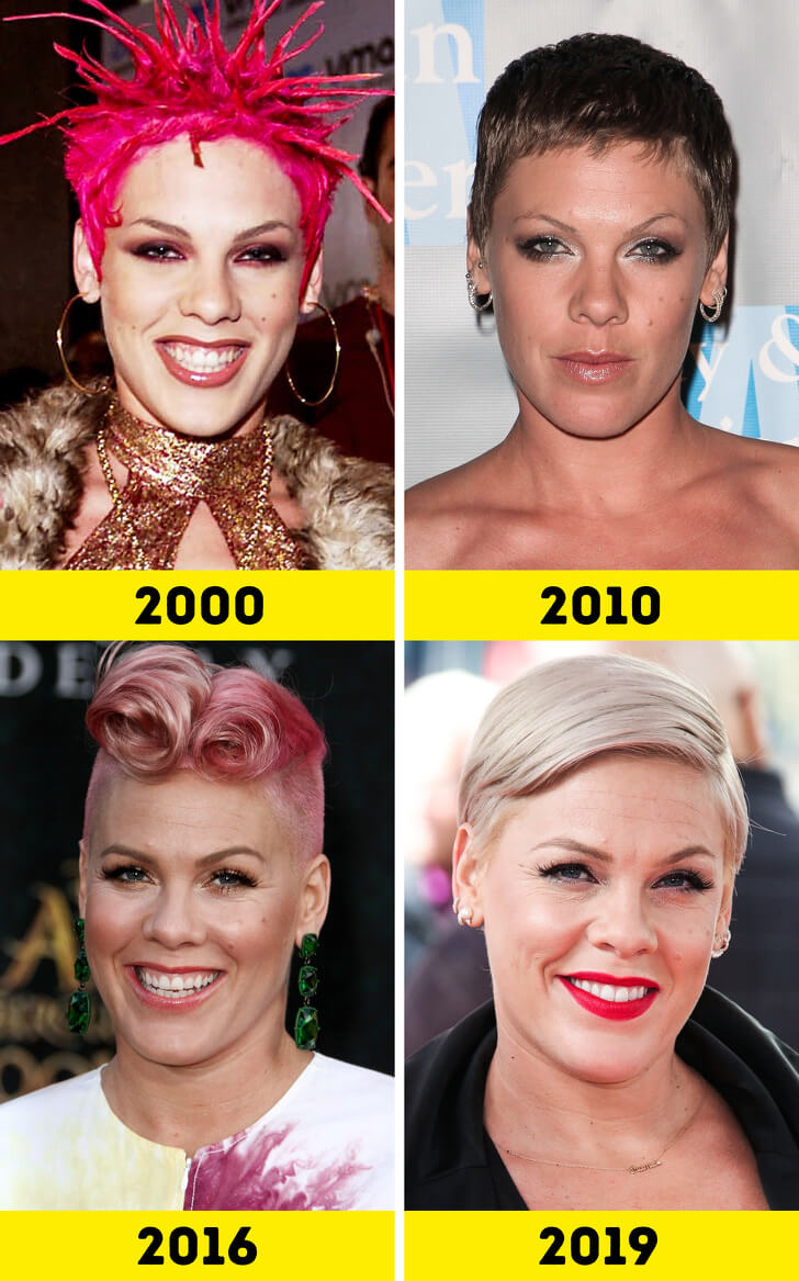 Pink Then And Now