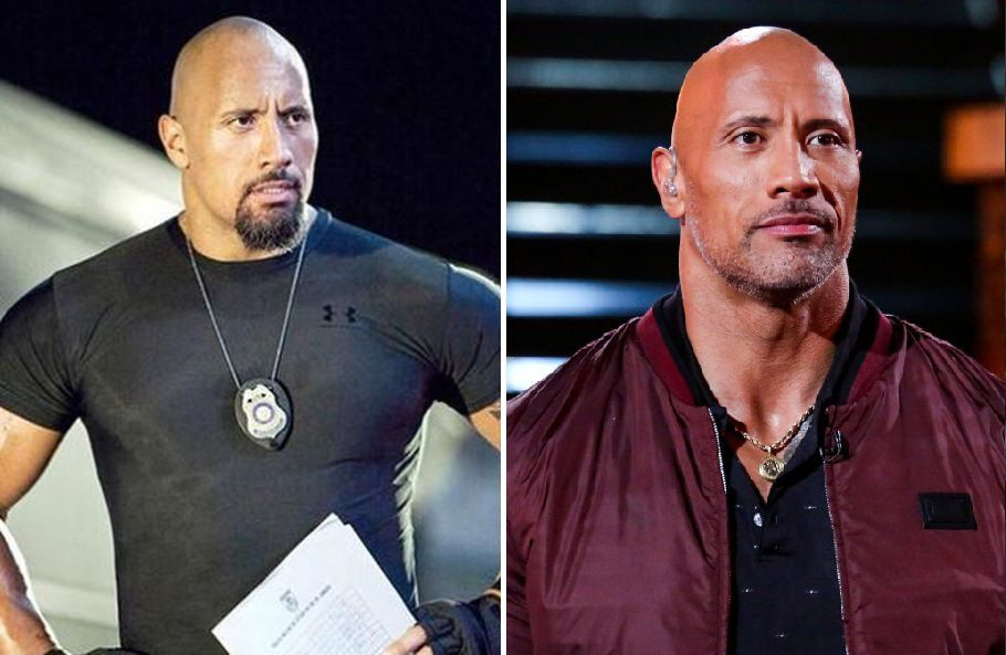 Dwayne Johnson Then And Now