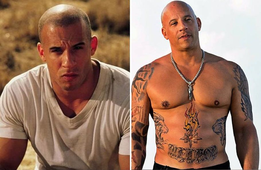 Vin Diesel Then And Now