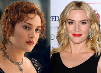kate winslet then and now