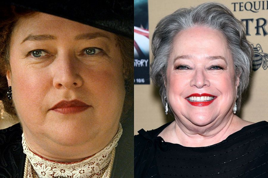 kathy bates then and now