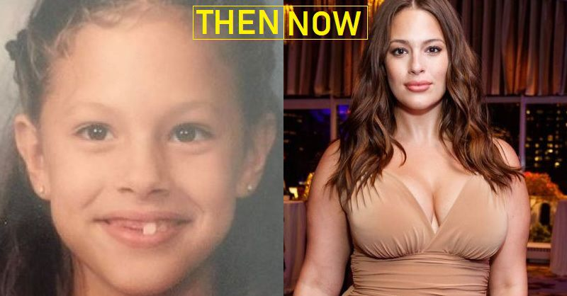 Ashley Graham Then And Now From Childhood To Today