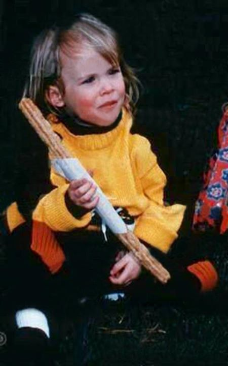 Dakota Johnson At Age 3